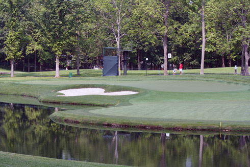 Muirfield Village Sixth Green