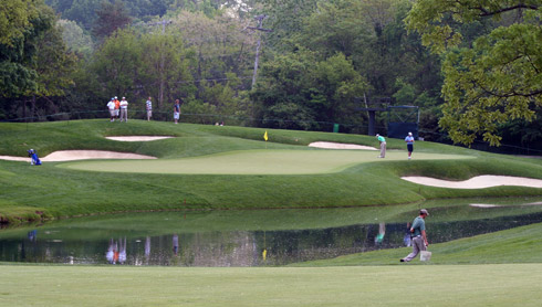 Muirfield Village Third Green