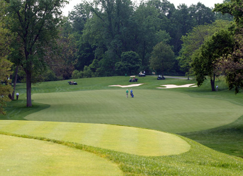 Muirfield Village Third Tee