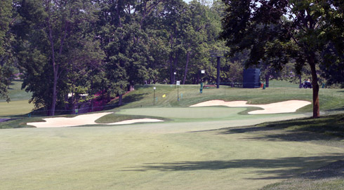 Muirfield Village Thirteenth Green