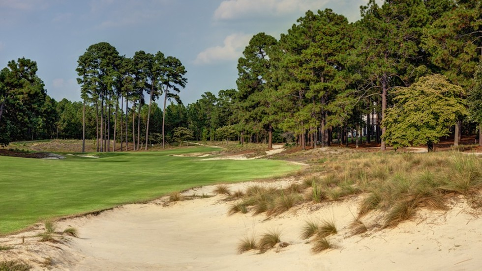 Pinehurst Renovations 4th Hole