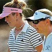 Sorenstam and Creamer