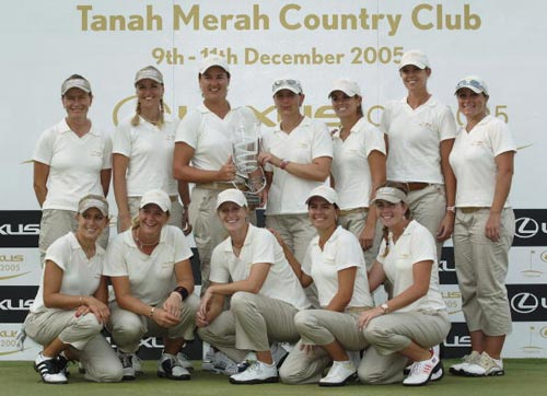 International Team win Lexus Cup