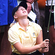 Morgan Pressel Upset