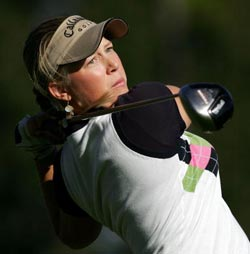 Morgan Pressel at Q-School