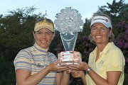 Sorenstam and Neumann Share World Cup Victory
