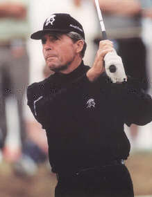 Gary Player Swinging