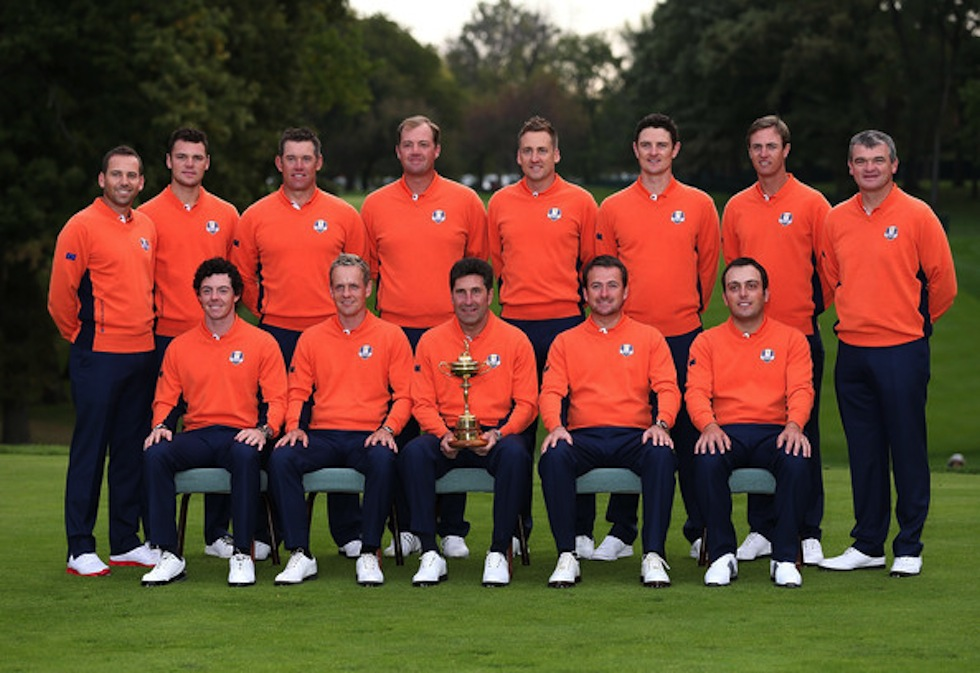 2012 Ryder Cup Team Europe
