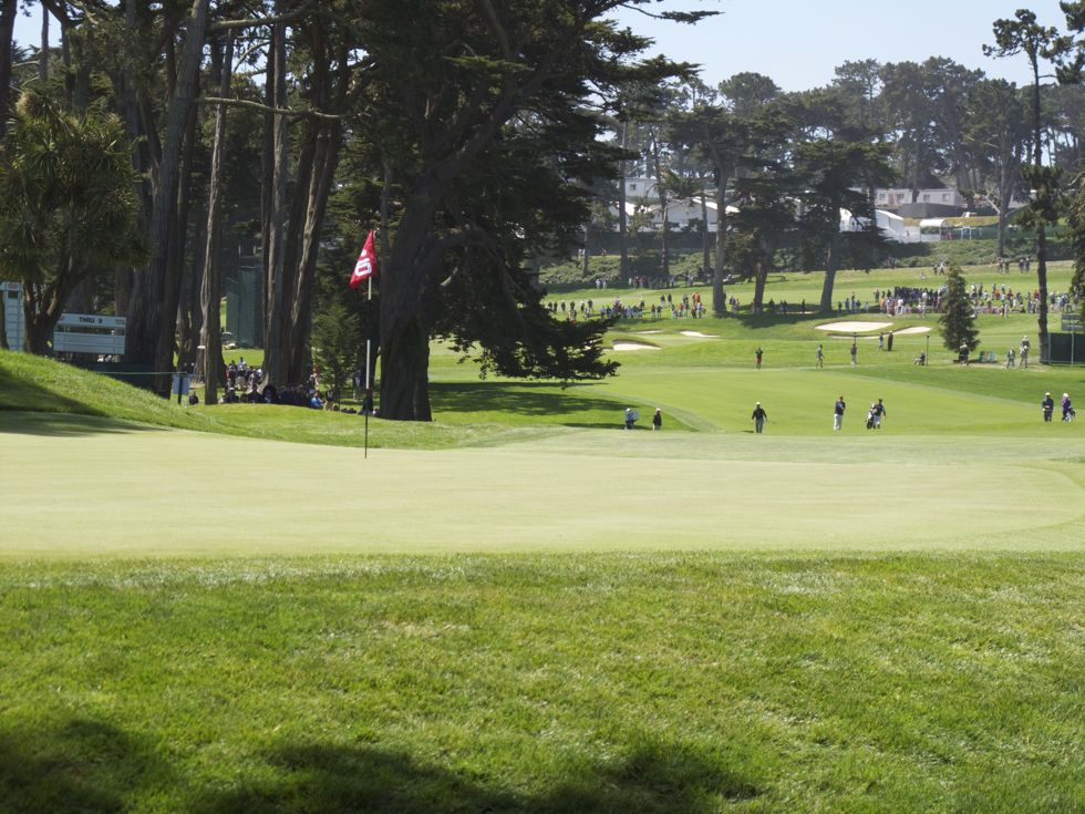 2012 U.S. Open 10th Green