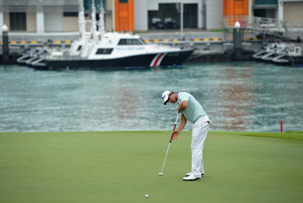 Adam Scott 2012 Singapore Open