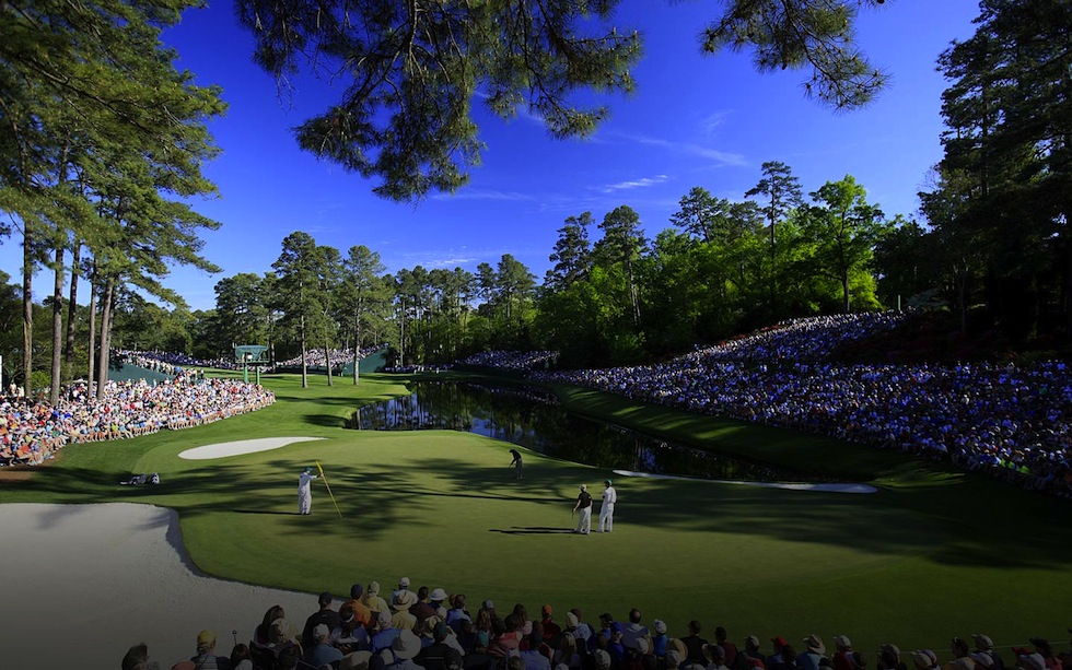Augusta National 16th Hole