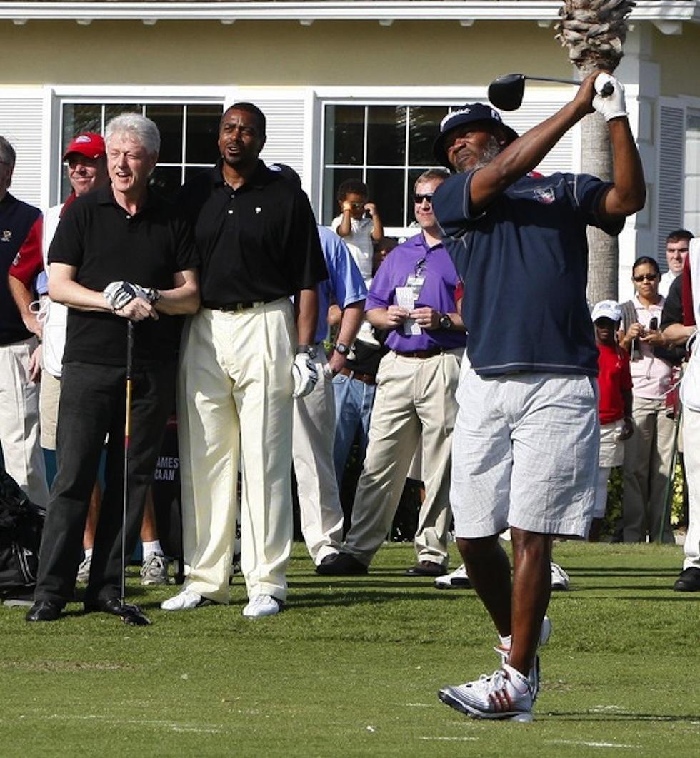 Bill Clinton Samuel L Jackson 2009