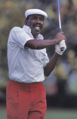 Calvin Peete's follow through