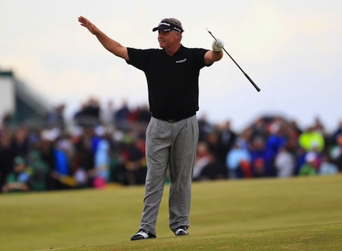 Darren Clarke 2011 British Open Sunday