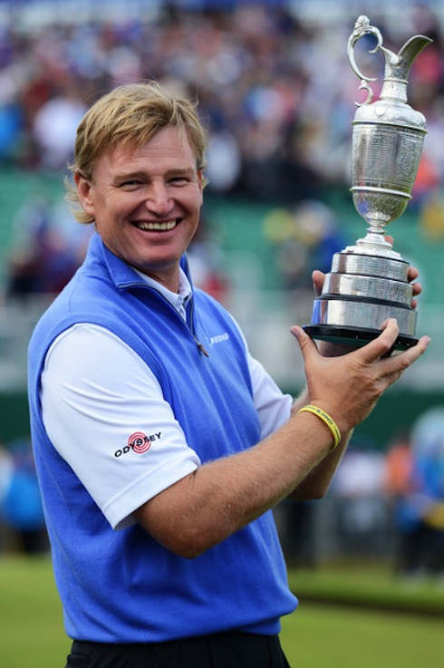 Ernie Els 2012 British Open Sunday Trophy