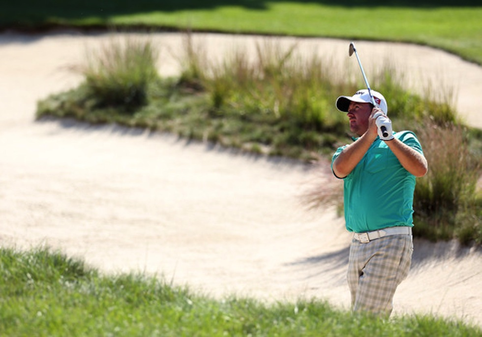 Graeme McDowell 2012 Deutsche Bank TPC Boston 7th Bunker.jpg