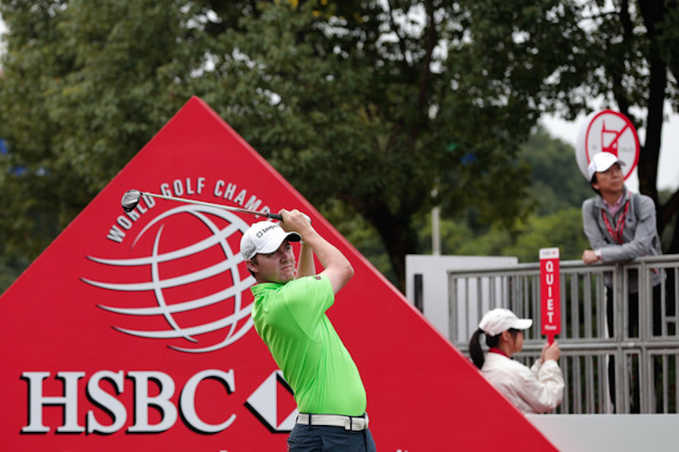 Jimmy Walker 2014 HSBC Champions Thursday