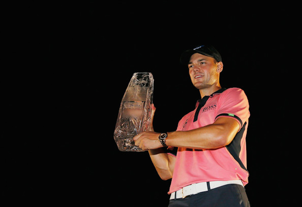 Martin Kaymer 2014 Players Championship Sunday Trophy