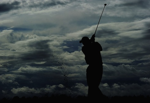 Phil Mickelson 2011 British Open clouds