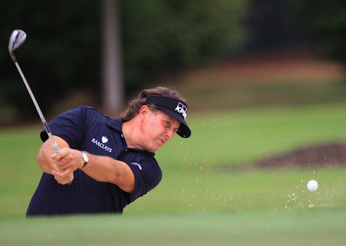 Phil Mickelson 2011 Tour Championship