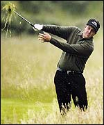 Phil Mickelson in the Rough