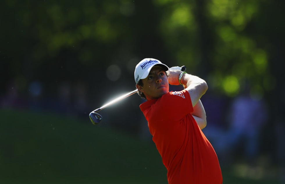 Rory McIlroy 2012 BMW PGA Championship