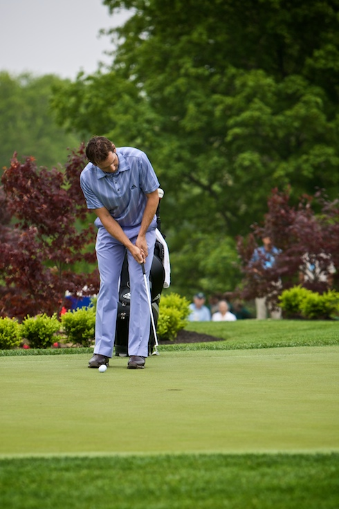 Sergio on the Putting Green