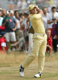 Sergio Garcia Yellow 2006 Open