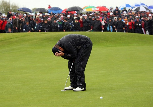 Shane Lowry 3 Irish Open Missed Putt