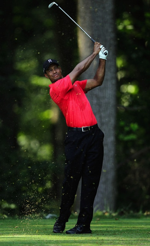 Tiger Woods 2013 ATT National Sunday