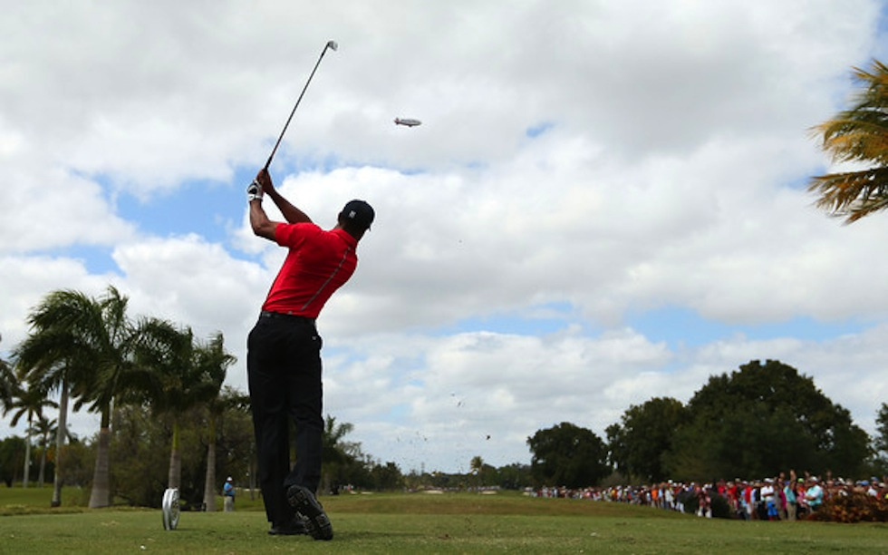 Tiger Woods 2013 Cadillac Doral Sunday