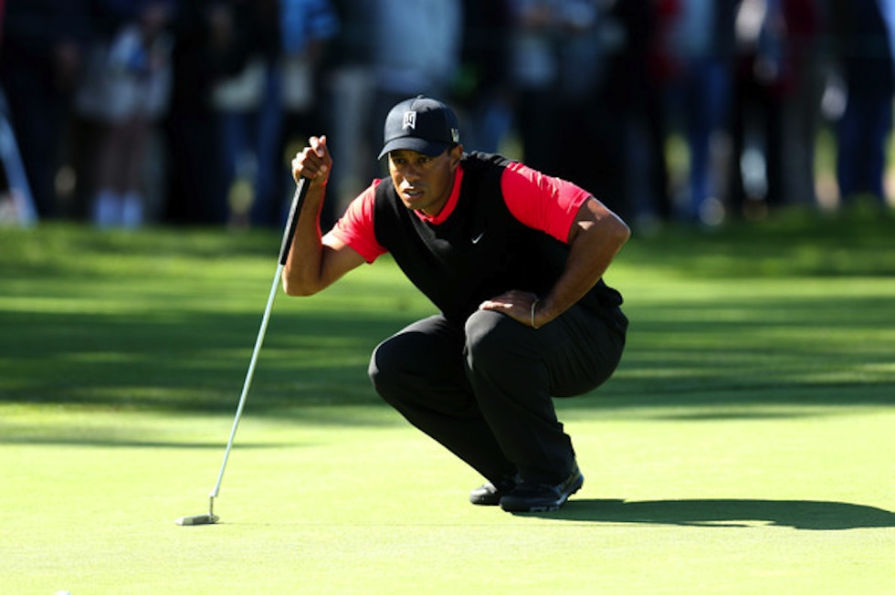 Tiger Woods 2013 Farmers Insurance Torrey Pines Sunday