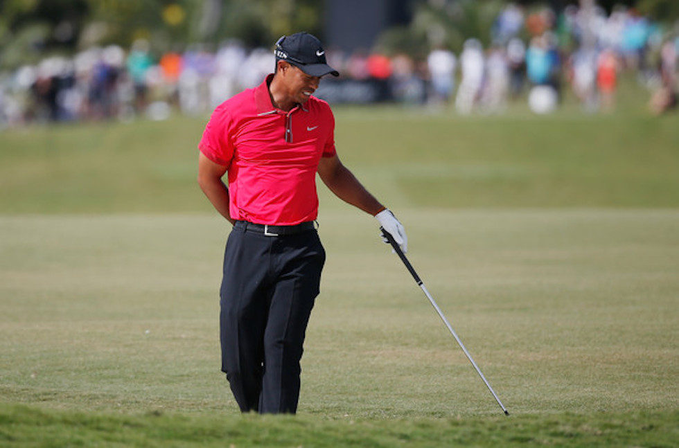 Tiger Woods 2014 WGC Cadillac Sunday