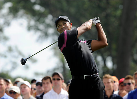 Tiger Barclays 2010