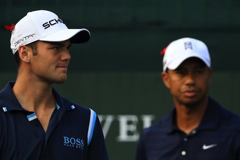 Tiger Woods Martin Kaymer 2011 Players Championship