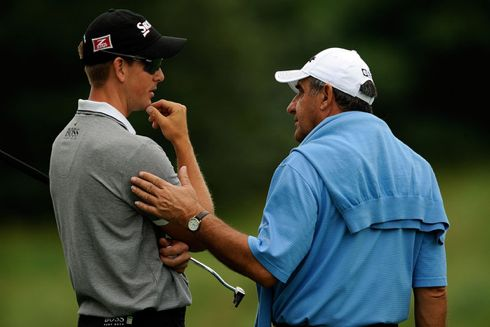Henrik Stenson and Bob Rotella