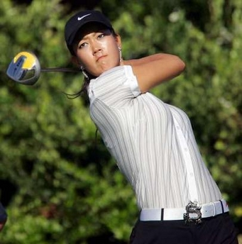 Michelle Wie at the Sony Open