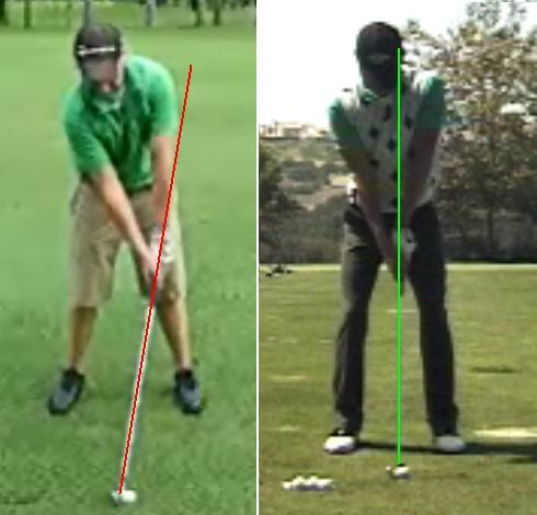 Xavier vs Charles Howell III iron setup face view