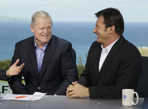 Johnny Miller and Nick Faldo