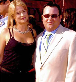 Matt with Kristy Swanson at the 2005 ESPY's