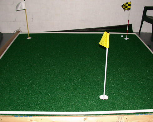 Stunning Indoor Putting Green Contemporary - Amazing House ...