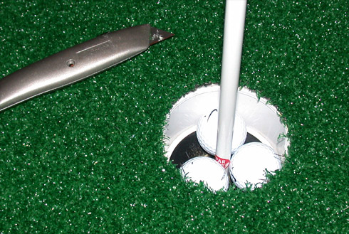 Putting Green Pincut
