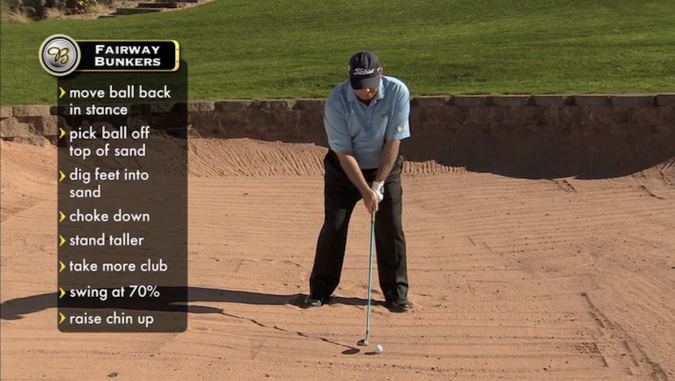 Butch Harmon About Golf Fairway Bunker