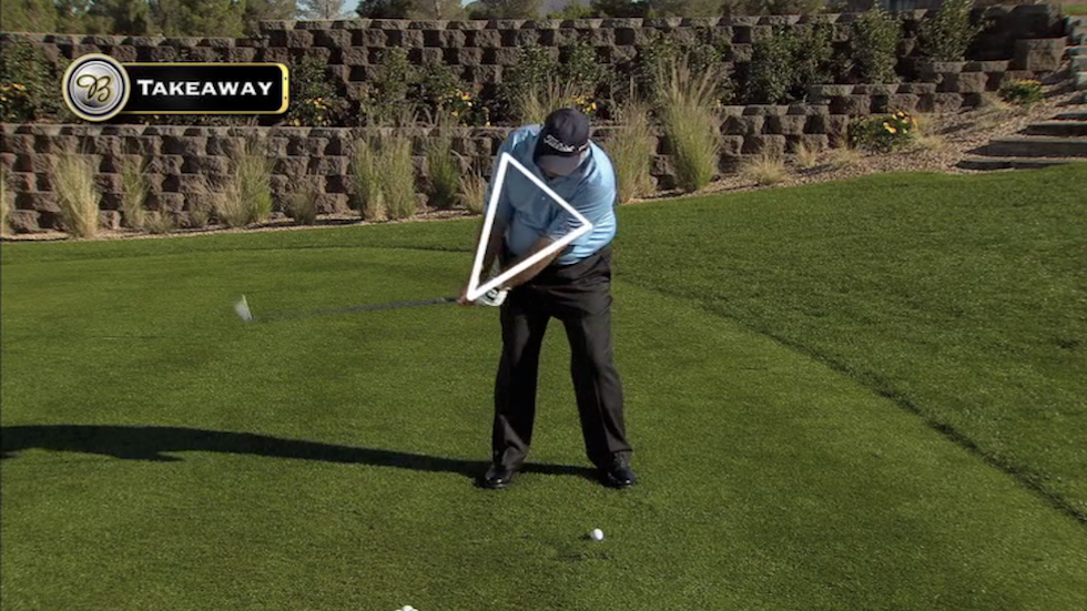 Butch Harmon About Golf Takeaway Triangle