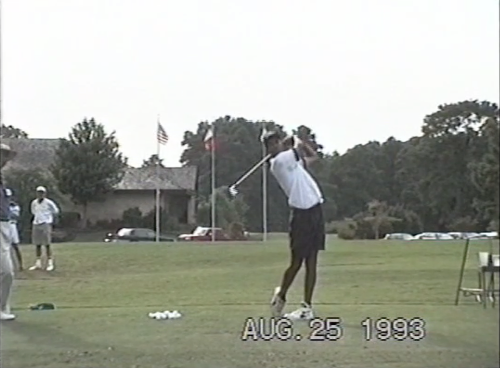 Butch Harmon About Golf Tiger Woods 1993 Front