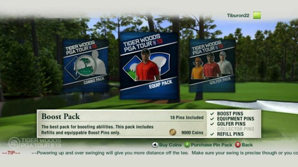 Tiger Woods 13 Pins Coins