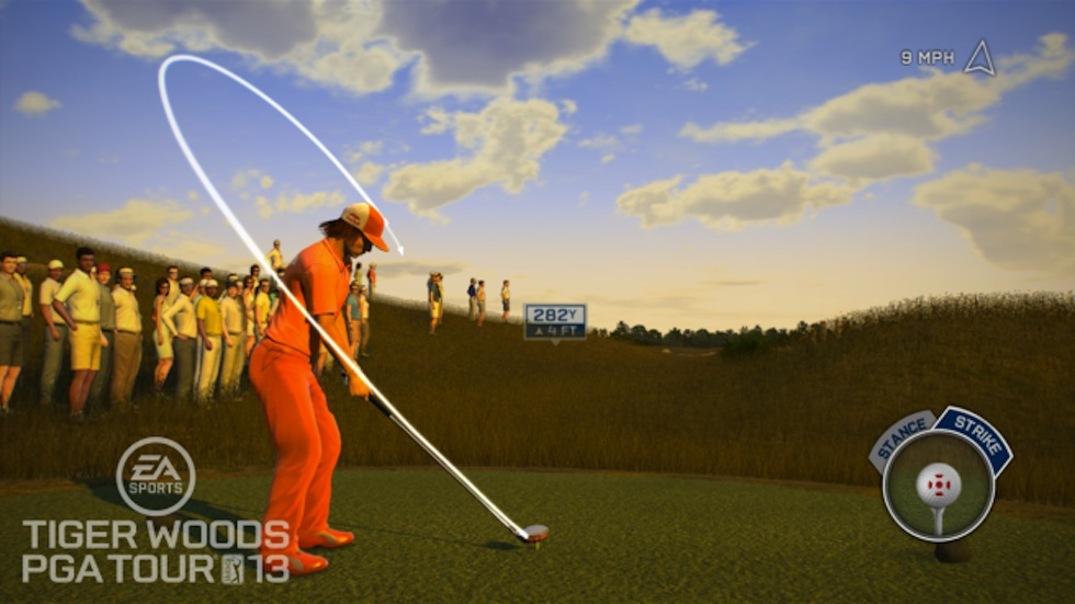 Tiger Woods 13 Rickie Fowler Total Swing Control