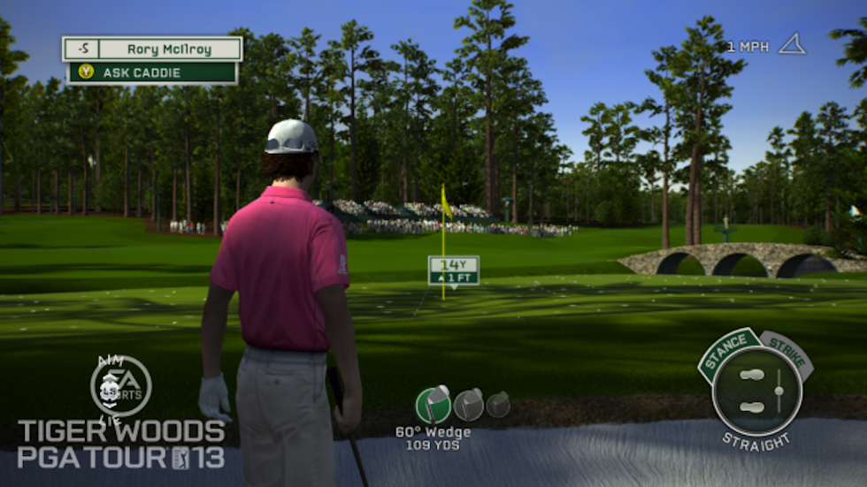 Tiger Woods 13 Rory McIlroy Bunker
