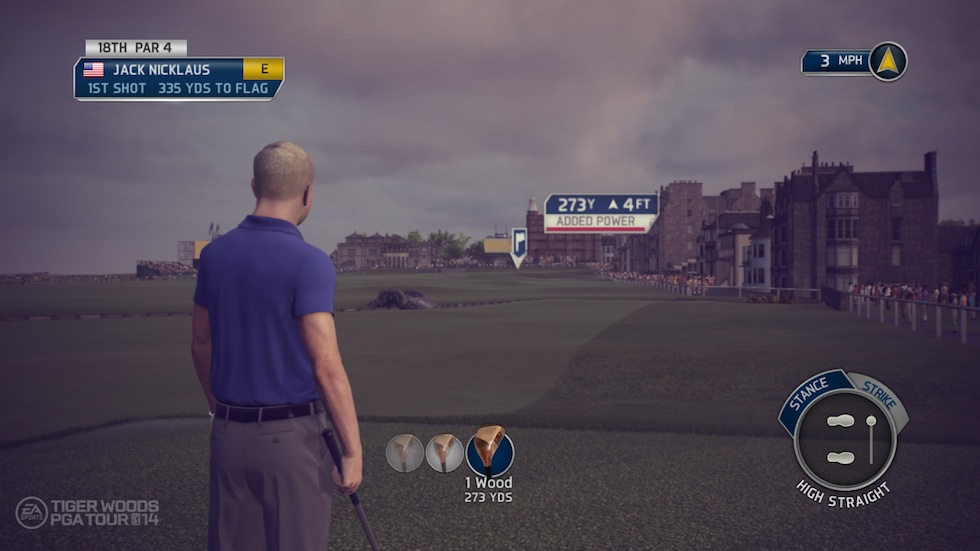 Tiger Woods PGA Tour 14 Jack Nicklaus St Andrews