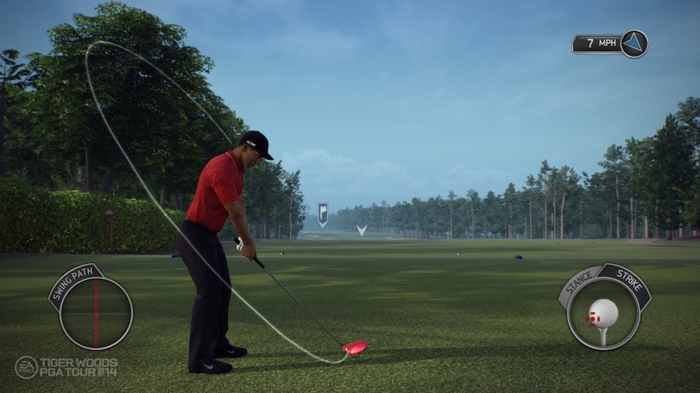 Tiger Woods PGA Tour 14 Setup